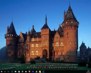 教室PCデスクトップ背景